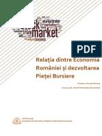 Proiect ECONOMETRIE Relația Dintre Economia României Și Piața de Capital Copy