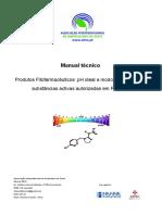 Prod. Fitofarmacêuticos - PH Ideal e Modos de Acção Das Substâncias Activas Autorizadas Em Portugal
