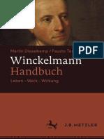 Winckelmann Handbuch Leben Werk Wirkung