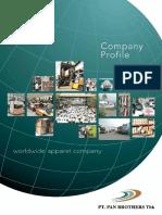 Company Profile 2012 Pan Brothers