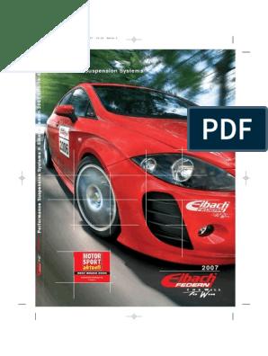 Coupé Typ GD Fahrwerk Feder 2 hinten Mazda 626 Limousine