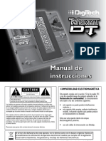 Whammy DT Manual 18-0873-C Spanish Original