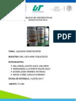 Reporte Liquidos Penetrantes