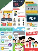 Leaflet TOSS TBC - Temukan Obati Sampai Sembuh TBC