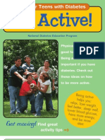 Tips for Teens With Diabetes - Be Active!