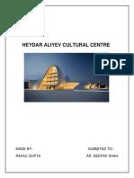 Heyder Aliyev Centre Report