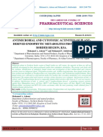 COMPARATIVE STUDY OF THE ESSENTIAL OIL, PHENOL, FLAVONOID CONTENTS AND IN VITRO ANTIOXIDANT ACTIVITY OF FOUR APIACEAE FRUITS