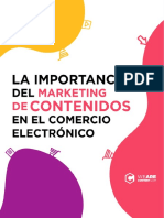 eBook La Importancia Del Marketing de Contenidos en El Comercio Electronico