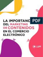 eBook La Importancia Del Marketing de Contenidos en El Comercio Electronico