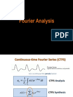 Fourier Analysis Summary