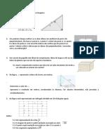Ficha de Revisões - T. Pitágoras, Isometrias, Funções