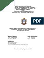 Listo Para Imprimir Informe de Pasantias Ruzmary