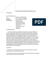 Plan de Trabajo de Comisión de Clausura 2018