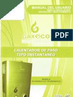 Manual Calentador de Paso1