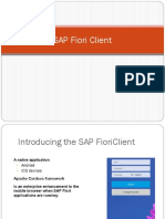 SAP Fiori Client _ Launching Ways