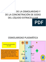 Control de La Osmolaridad y de La Concnetración