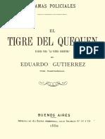 El Tigre Del Quequen - Eduardo Gutierrez