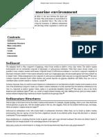 Shallow Water Marine Environmenta