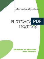 Explorando Flutuacao Liquidos Caderno Registos