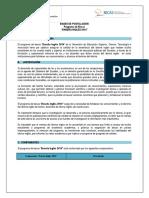 BASES DE POSTULACION ENSEÑA INGLES 6TO GRUPO-2014-2