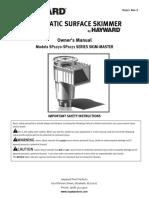 Surface Skimmer SP1071 SP1070