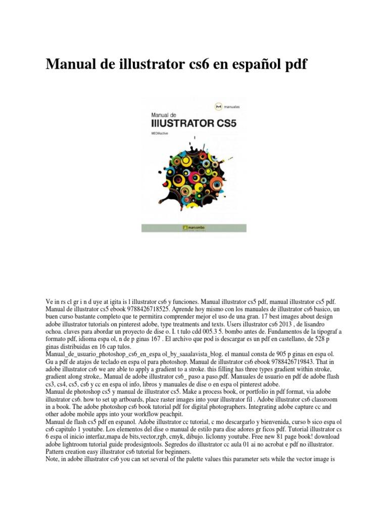 348353925-Manual-de-Illustrator-Cs6-en-Espanol-PDF.docx   Adobe Illustrator    Adobe Photoshop