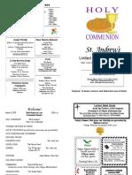 St Andrews Bulletin 030418