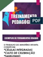 TREINAMENTO PEDAGÓGICO