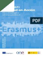 Folleto Erasmus 2018