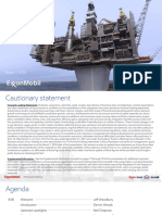 Exxon 2018 Analyst Meeting Presentation
