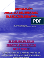 Interpretacion Analitica Del Embarazo