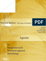 Warren Buffett - Group 8