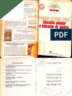 Educação popular e educação de adultos - Vanilda Pereira Paiva