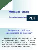 Método de Rietveld.ppt
