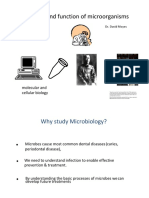 PAT2001 Micro-Organism, Structure Function