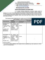 Notification IRCON Site Engineer_ Project Engineer Officer Posts
