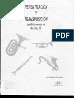 Repentización y Transporte (Libro)