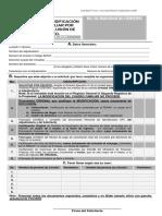 Modificacion de Cuadro Familiar Por Inclusion o Exclusion de Miembro s