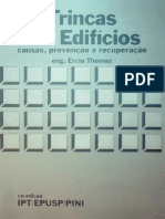 THOMAZ - Trincas em edifÍcios -  Ercio Thomaz