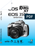 EOS 350D Hardware Eng Toc