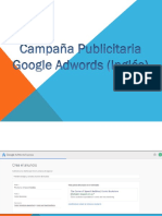 Campaña publicitaria Google Adwords (Inglés) (Reto 02, Tarea 05)