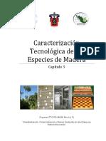 Caracterizacion Tecnológica de Las Especies de Madera