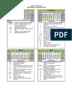 Campus Uberlandia - Calendario 2018