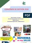 COnvenios de Gestion 2016