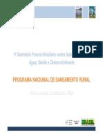 Programa Nacional de Saneamento Rural