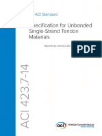 4237_14, Specification for Unbonded Single-Strand Tendon Materials