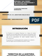 Expocicion Auditoria Gubernamental Directiva[1]