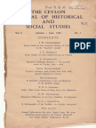 the ceylon journal of historical and social science.pdf