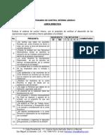 Cuestionario de Control Interno Adesco