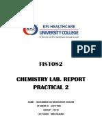 Chemistry Practical II (2)